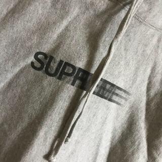 シュプリーム(Supreme)のsupreme モーションロゴ パーカー(パーカー)