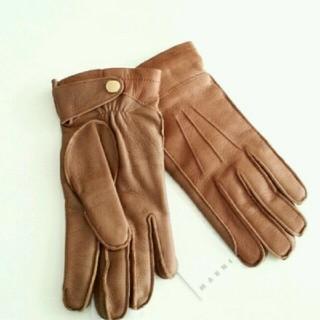 マルニ(Marni)の新品5.7万MARNI 鹿レザー バイカラーグローブ 手袋 マルニ (手袋)