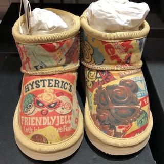 ヒステリックミニ(HYSTERIC MINI)の新品未使用(ブーツ)
