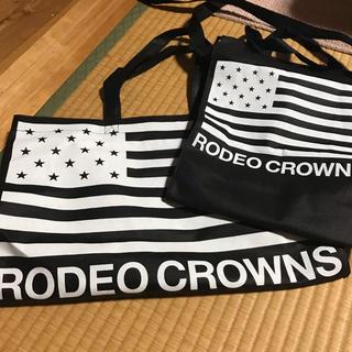 ロデオクラウンズ(RODEO CROWNS)のロデオ ショップ袋 2枚(ショップ袋)
