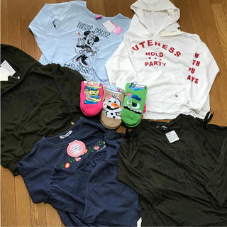 ディズニー(Disney)の女の子 まとめ売り 150(Tシャツ/カットソー)