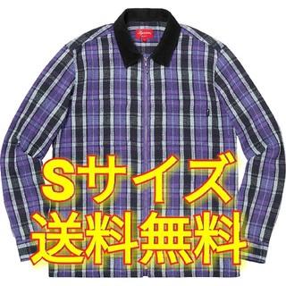 Supreme - 新品 Sサイズ 送料込み Plaid Thermal Zip Up Shirt