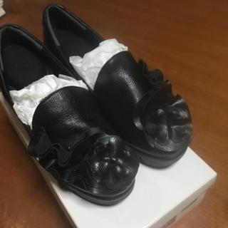 オト(OTO)の靴 舟底5.5cm オットー購入 お買得(ローファー/革靴)