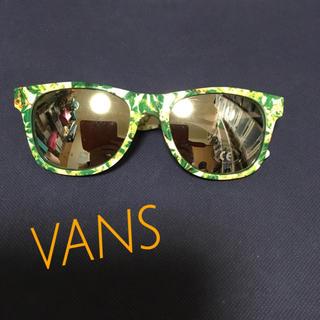 ヴァンズ(VANS)の新品‼ VANS ミラーサングラス  ボタニカル 花(サングラス/メガネ)