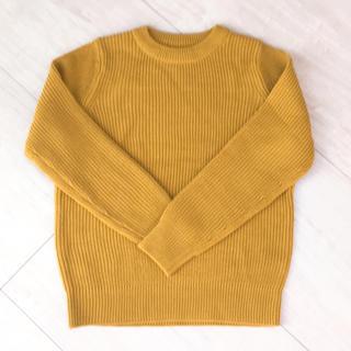 GU - GU 黄色のニット