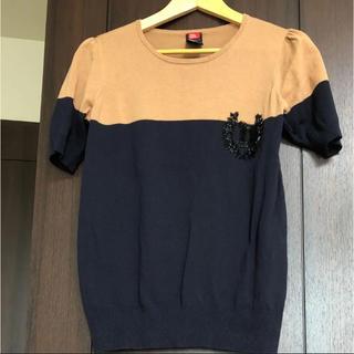 ダブルスタンダードクロージング(DOUBLE STANDARD CLOTHING)のダブスタ 半袖ニット(カットソー(半袖/袖なし))