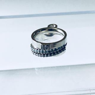 ヨンドシー(4℃)の【状態確認用画像①】☆輝くラインストーン☆4℃リング(リング(指輪))
