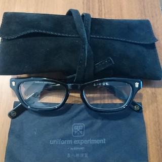 ユニフォームエクスペリメント(uniform experiment)の泰八郎謹製 uniform experiment(サングラス/メガネ)