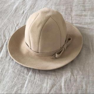 チヨダ(Chiyoda)のCHIYODA CHAPEAUXチヨダ帽子 ハット ミルクティー(ハット)