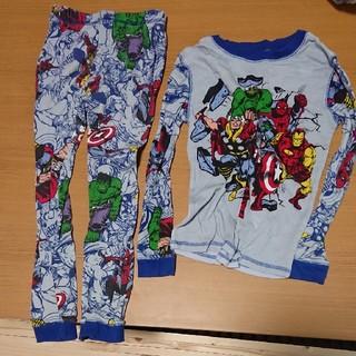 マーベル(MARVEL)のMARVEL パジャマ size 7 120センチトッキュージャートレーナー(パジャマ)