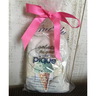 ジェラートピケ(gelato pique)のモコモコ靴下♡(ソックス)