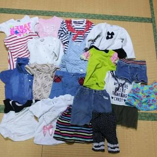 子供 服 女の子 80~90 まとめ売り(Tシャツ/カットソー)