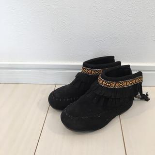 エフオーキッズ(F.O.KIDS)のアンパサンド f.o.kids ブーツ 14.5cm フリンジブーツ(ブーツ)
