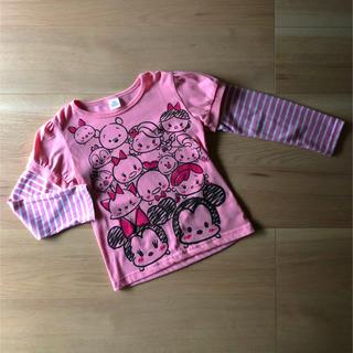 ディズニー(Disney)の☆ Disney ツムツム ロンT 未使用 120 ☆(Tシャツ/カットソー)