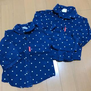 ジャンクストアー(JUNK STORE)のJunk store 90 95 お揃いセット ドットシャツ(Tシャツ/カットソー)