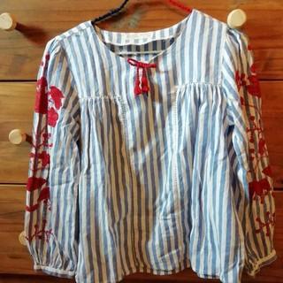 ザラキッズ(ZARA KIDS)のZARA★ザラ152センチ刺繍ブラウス(Tシャツ/カットソー)