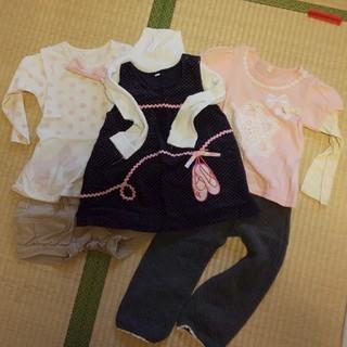 ニシマツヤ(西松屋)の女の子 95~100 おまとめ(Tシャツ/カットソー)