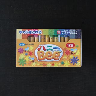 ハニービー(HONEY BEE)の(新品) ハニービー さくらクレヨン(水性)12色(クレヨン/パステル )