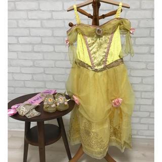 ディズニーストア ベル ドレス 120サイズ