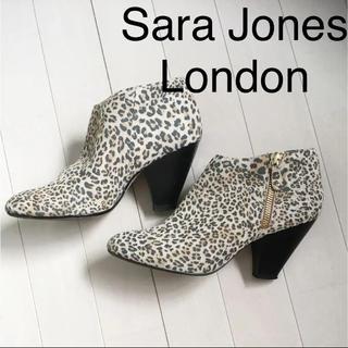 サラジョーンズロンドン(Sara Jones London)のサラジョーンズロンドン サイドジップブーティー 値下げSALE(ブーティ)