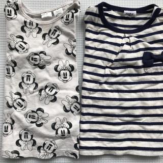 H&M - 長袖Tシャツ2枚セット☆80