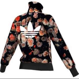 アディダス(adidas)の薔薇ジャケット(テーラードジャケット)