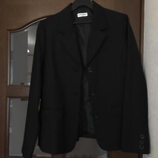 クラウンバンビ(CROWN BANBY)のクラウンバンビ♡ キッズ ブレザー ブラック 美品 160㎝(ジャケット/上着)