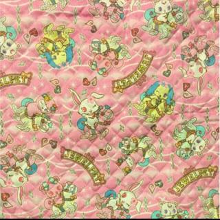 ジュエルペット(ジュエルペット)のキルト 生地 ジュエルペット 130×52(生地/糸)