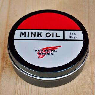 レッドウィング(REDWING)のレッドウィングREDWING米国製ミンクオイルMINJOIL保革油シューケア用品(ブーツ)