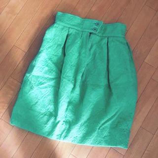 クリスチャンラクロワ(Christian Lacroix)のクリスチャンラクロワ キルティングスカート 模様がかわいい vintage (ミニスカート)