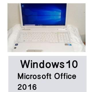 東芝 - Microsoft Office2016 ノートパソコン ノートPC