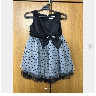 6682503c174a1 マザウェイズ(motherways)のMotherways マザウェイズ ドレス 女の子 結婚式 発表会 100黒(. ドレス フォーマル