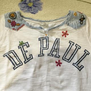 キューブシュガー(CUBE SUGAR)の刺繍Tシャツ(Tシャツ(半袖/袖なし))