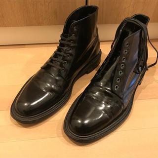 サンローラン(Saint Laurent)のsaint laurent patent lether army boots(ブーツ)