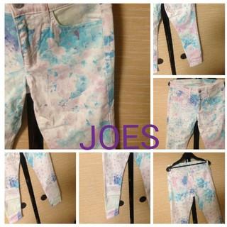 ジョーズジーンズ(JOE'S JEANS)のJOES花柄スキニーパンツ 桜柄!(スキニーパンツ)