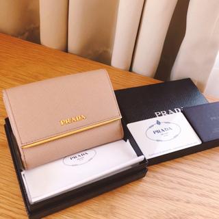PRADA - 未使用 ★ プラダ ★サフィアーノ 二つ折り財布