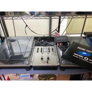 テクニクス DJ機材セット(ターンテーブル)