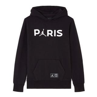 NIKE - 込 XL Jordan PSG パリ サンジェルマン プルオーバー フーディ 黒