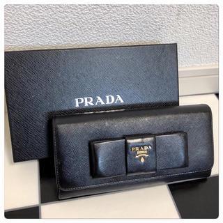 PRADA - 《超美品》PRADA(プラダ)長財布