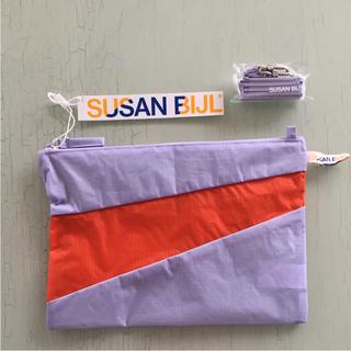 スーザンベル(SUSAN BIJL)のセット❗️スーザンベル ポーチ M ストラップ サコッシュ バッグ 1975(ポーチ)