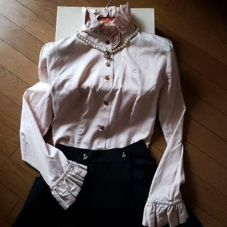 ヴィヴィアンウエストウッド(Vivienne Westwood)の[ちゅららん様専用]立ち襟フリルブラウス(セット/コーデ)