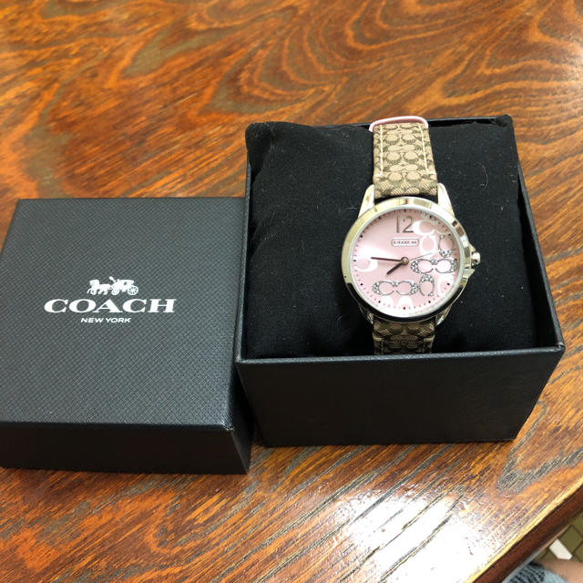 982925ca9acb COACH(コーチ)のCOACH コーチ レディース腕時計 クラシック シグネチャー レディースのファッション小物(
