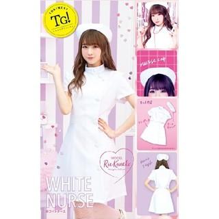新品未使用 2点セット コスプレ ナース服 衣装 ハロウィン イベント ホワイト