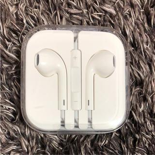 iPhone - iPhone イヤフォン新品 未開封