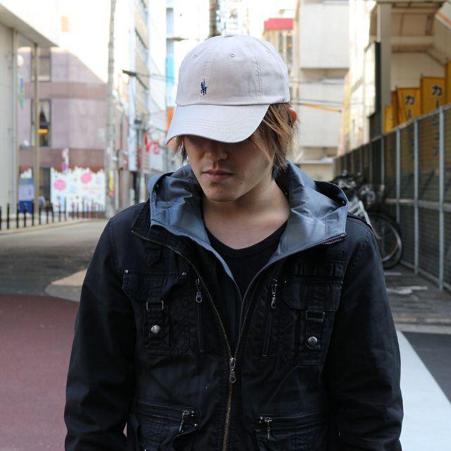 帽子 男女兼用 ローキャップ キャップ ラパ キャップ ベージュ CAP メンズの帽子(キャップ)の商品写真