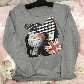 サンリオ(サンリオ)のHELLO KITTY 長袖Tシャツ新品(御予約済)(Tシャツ(長袖/七分))