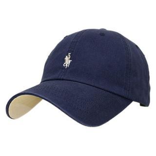 帽子 男女兼用 ローキャップ キャップ ラパ キャップ  ネイビー CAP(その他)