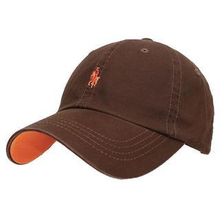 帽子 男女兼用 ローキャップ キャップ ラパ キャップ  ダークブラウン CAP(キャップ)