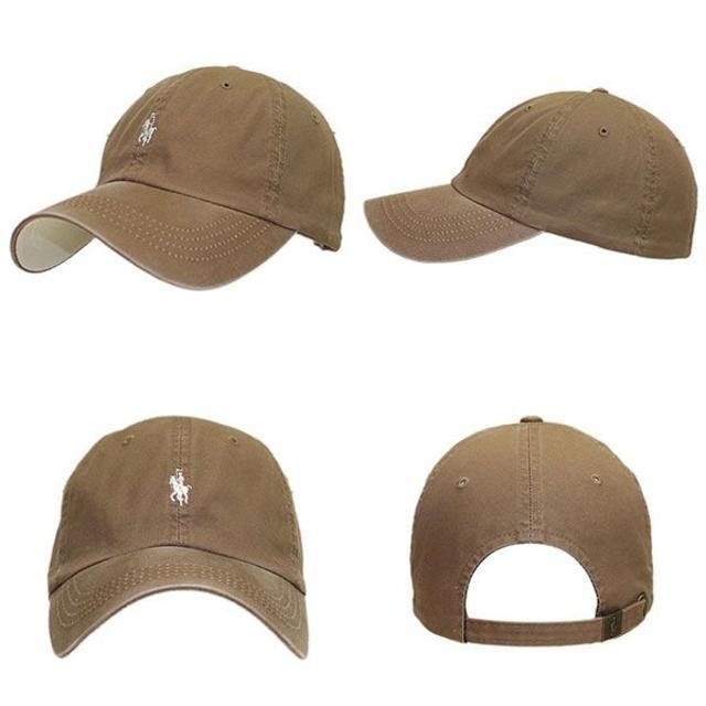 帽子 男女兼用 ローキャップ キャップ ラパ キャップ  ライトブラウン CAP スポーツ/アウトドアのアウトドア(その他)の商品写真