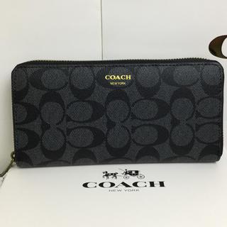 COACH - ☆新品☆COACH◆長財布◆【箱付き】送料無料